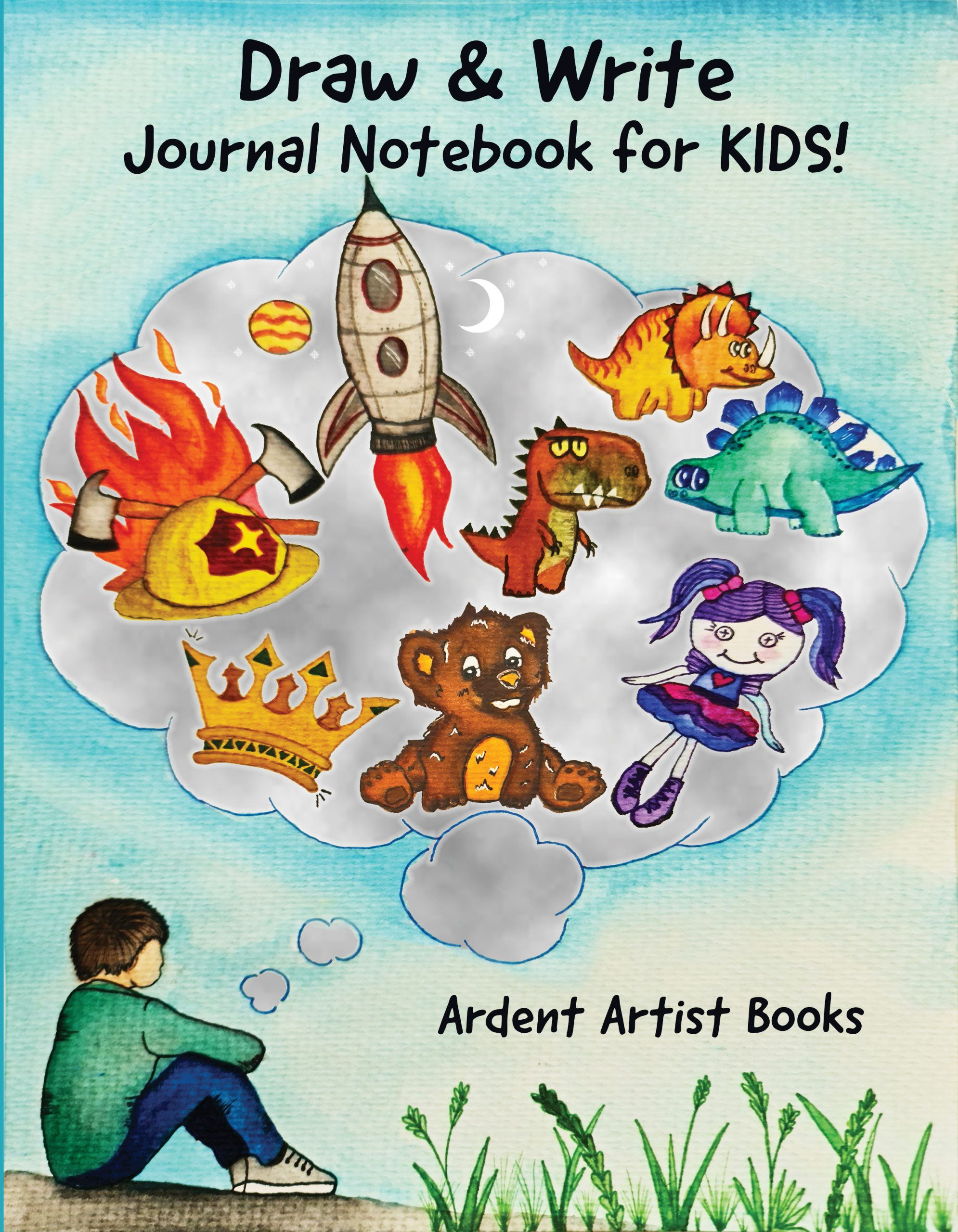 """<span itemprop=""""name"""">Draw & Write Notebook for Kids!</span>"""
